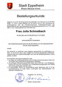 Gutachterausschuss Stadt Eppelheim